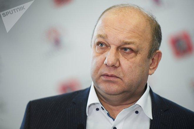 Руководитель Департамента национальной политики и межрегиональных связей города Москвы Виталий Сучков