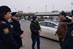 Bakı şəhər DYP piyadalara qarşı reyd keçirib