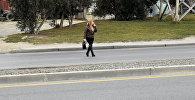 Рейды на дорогах Баку, проводимые сотрудниками Главного управления государственной дорожной полиции АР