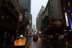 Бродвейский театр в Нью-Йорке