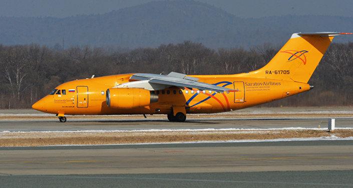 Самолет Ан-148-100В, фото из архива