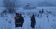 Службы спасения на месте крушения самолета АН-148