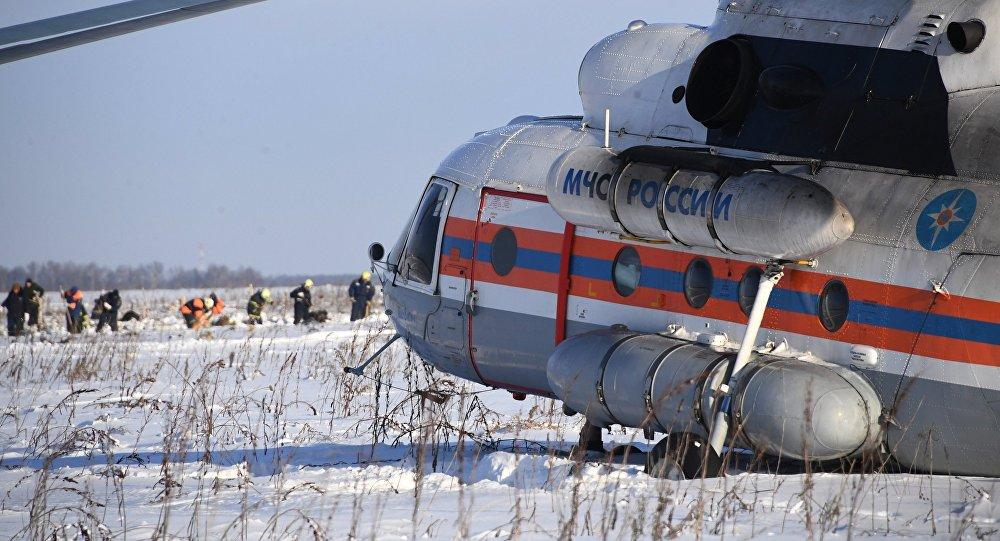 Saratov hava yolları (Saratov Airlines) şirkətinə məxsus təyyarənin qəzaya uğradığı ərazi