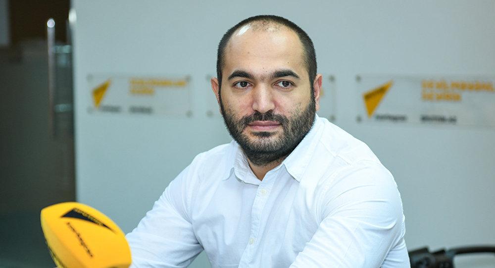 Радиоведущий Araz FM Сурхай Аскеров