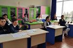 Очередной тур Х республиканской Олимпиады по русскому языку и литературе в Сумгайыте