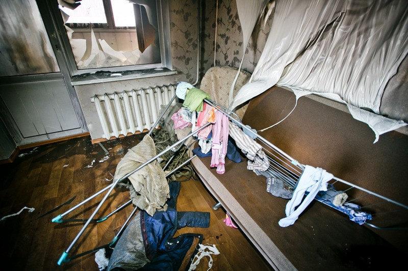 Пожар в Оренбурге