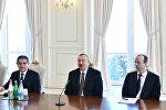 Prezident İlham Əliyev Almaniya İqtisadiyyatının Şərq Komitəsinin nümayəndə heyətini qəbul edib