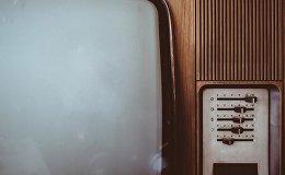 Старый телевизор, фото из архива