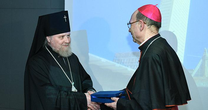Прием первого епископа Азербайджанской Католической церкви по случаю рукоположения