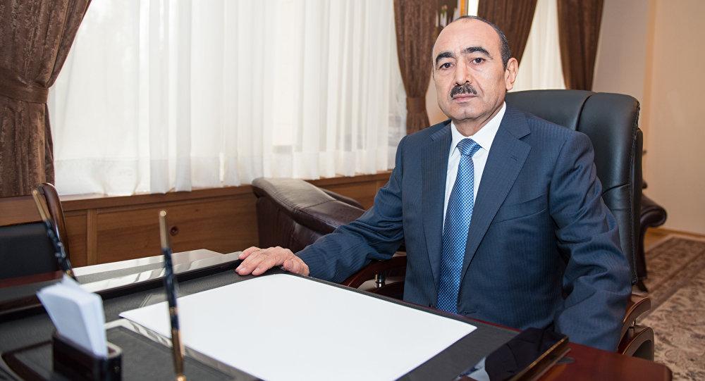 Помощник Президента Азербайджана Али Гасанов, фото из архива