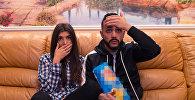 Известный российский блогер азербайджанского происхождения Гусейн Гасанов и его возлюбленная