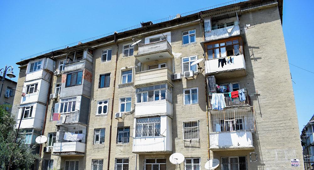 Жилой дом в Баку, фото из архива