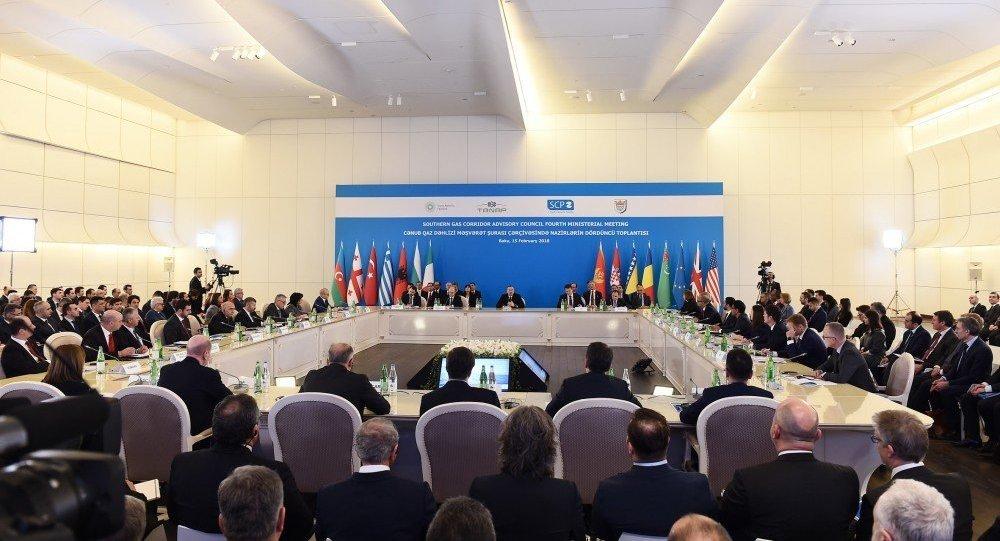 В Баку в рамках Консультативного совета Южного газового коридора проходит четвертое заседание министров