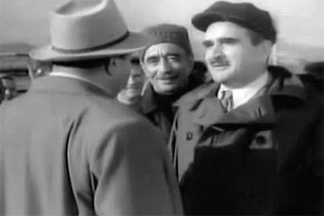 Народный артист СССР, Алескер Алекперов  в фильме Чёрные скалы (1956)
