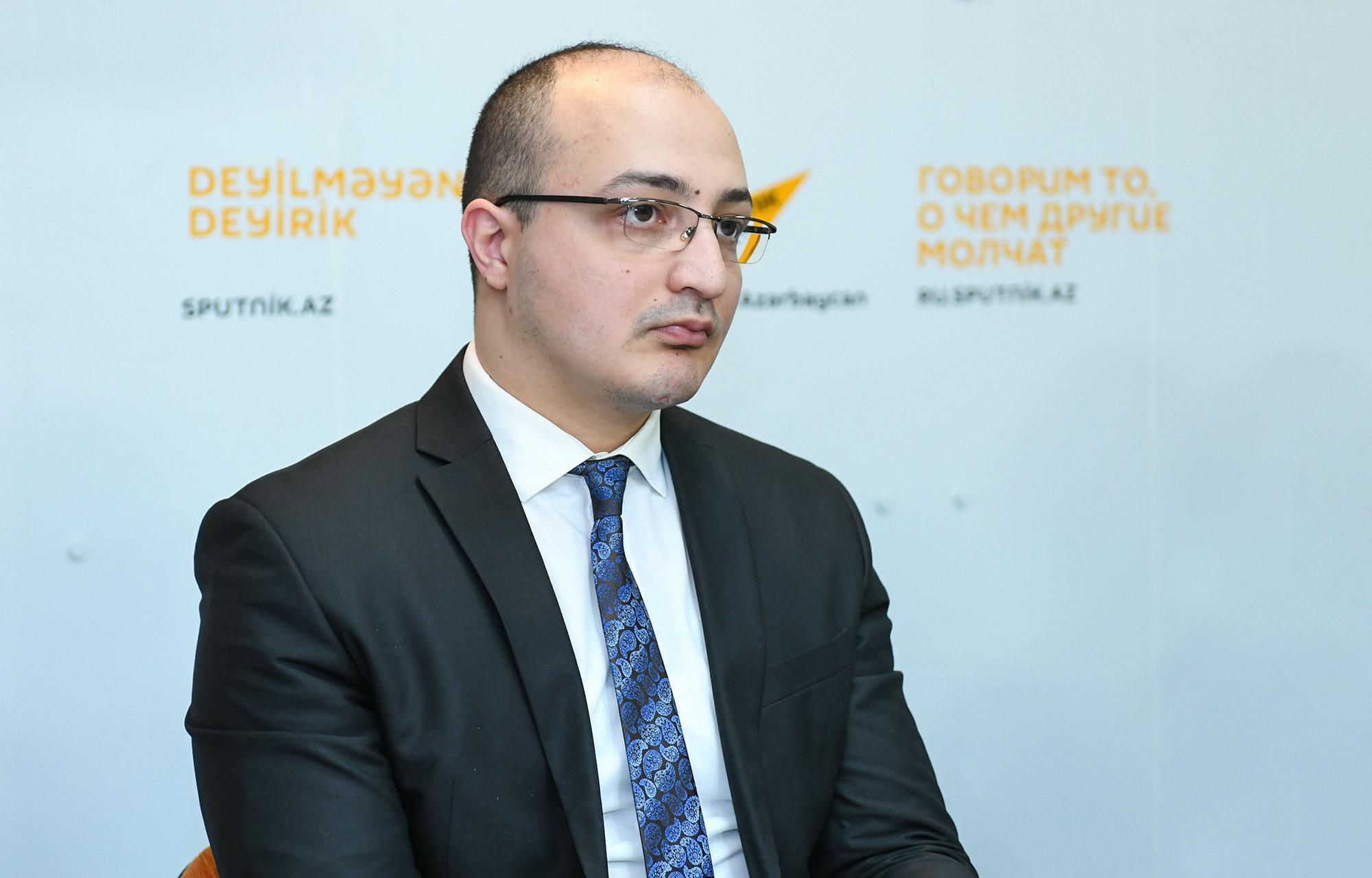 Кандидат политических наук, преподаватель Академии государственного управления при президенте Азербайджана Заур Мамедов