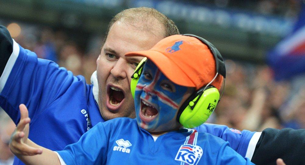 Исландские болельщики