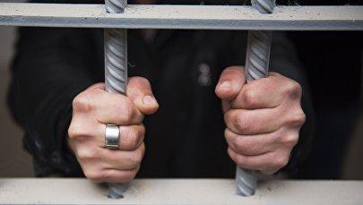 Заключенный, фото из архива