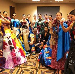 Стефано Суарос выступил в качестве модели на Недели моды в Нью- Йорке