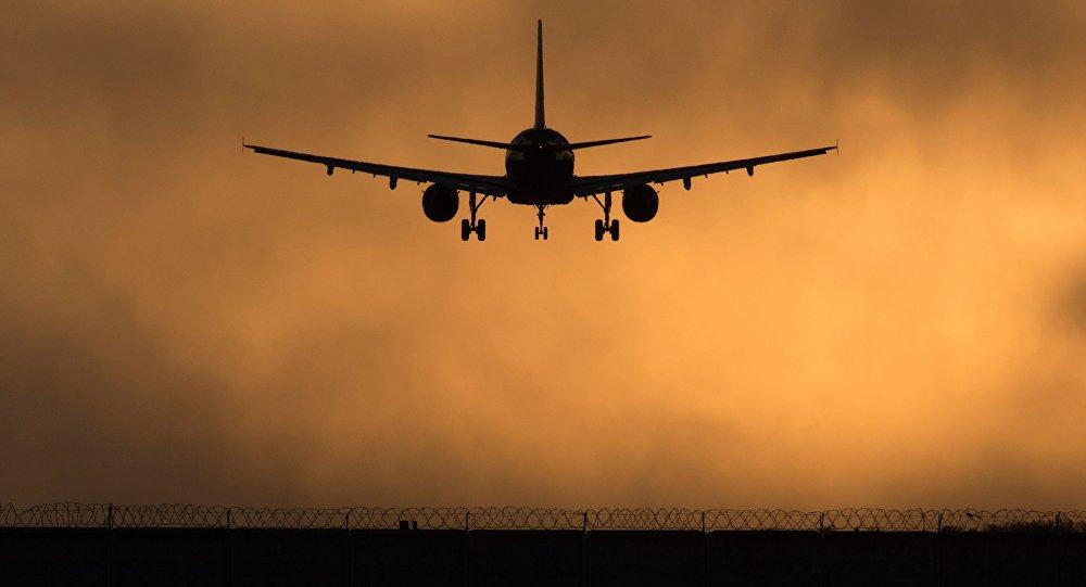 Самолет заходит на посадку в международном аэропорту Шереметьево, фото из архива