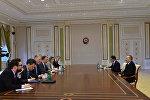 Президент Ильхам Алиев принял делегацию во главе со специальным посланником Европейского Союза