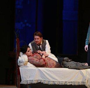 В Азербайджанском государственном академическом театре оперы и балета состоялся показ оперы «Богема» Джакомо Пуччини