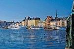 Вид на город Стокгольм