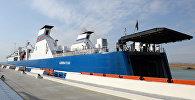 Паром в Бакинском международном морском торговом порту