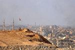 Вид Дейр-эз-Зора во время операции сирийской армии против террористов, фото из архива