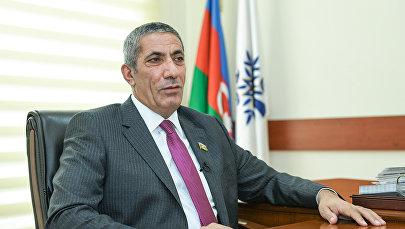 Заместитель исполнительного секретаря правящей партии Ени Азербайджан (ПЕА) Сиявуш Новрузов