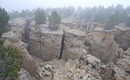 Баиловское ущелье продолжает сползать вниз