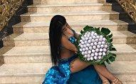 Известная азербайджанская исполнительница ориентальных танцев Рена Агамурадова