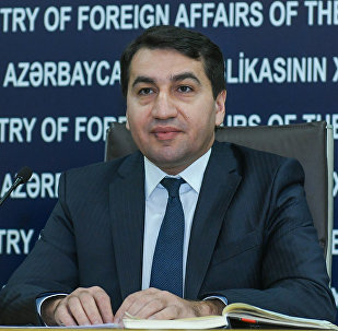 Руководитель пресс-службы МИД Азербайджана Хикмет Гаджиев