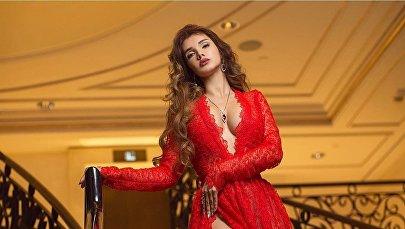Победительница национального конкурса красоты Мисс Азербайджан-2016 Оксана Бархатова