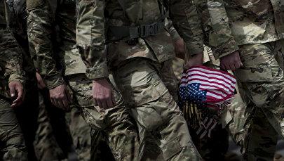 Солдаты армии США, фото из архива