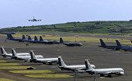 Американская база ВВС Лажеш на Азорских островах, фото 2003 года