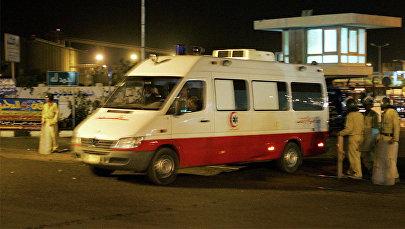 Карета скорой помощи в Египте, фото из архива