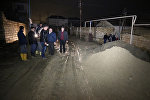 В массиве 1А поселка Локбатан Гарадагского района лопнула водопроводная труба