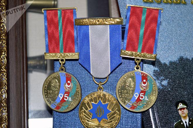Şəhidin medalları