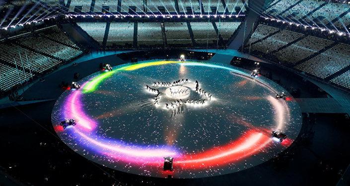 Закрытие Зимней олимпиады-2018