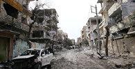 Разрушения в Восточной Гуте, Сирия