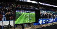 Система видеопомощи VAR в ходе футбольного матча