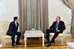 Президент Ильхам Алиев принял делегацию во главе с министром иностранных дел и международного сотрудничества Марокко