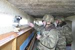 Министр обороны посетил передовые подразделения