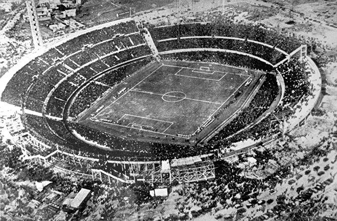 Стадион Сентенарио. 30 июля 1930 года