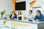 Пресс-конференция на тему Решение проблем социальной адаптации женщин, подвергшихся насилию