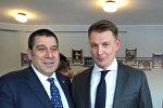 Глава азербайджанской диаспоры в Москве Ализаман Рагимов награжден орденом Святого Сергея Радонежского