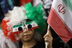 Болельщик сборной Ирана по футболу, фото из архива