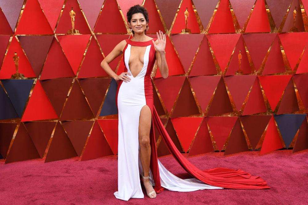 Актриса Бланка Бланко на 90-ой церемонии кинопремии Оскар