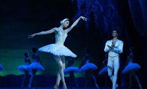 Балет Лебединое озеро на сцене Театра оперы и балета