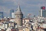 Вид на один из районов Стамбула